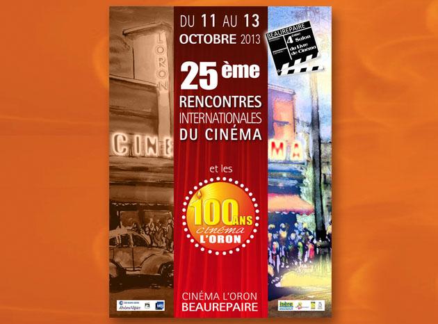 Affiche cinéma Graphiste à Grenoble