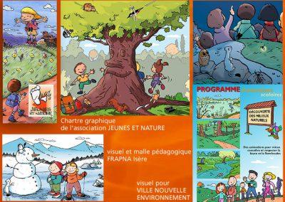 Enfants et nature