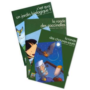 Collection BD Nature livre pour enfant