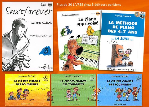 Couvertures livres musicaux Grenoble