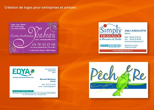 Création de logos en Auvergne Rhône Alpes