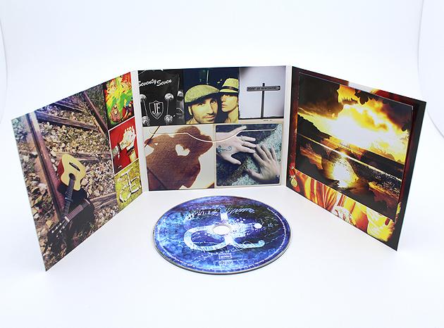 Création jaquette CD sur Grenoble