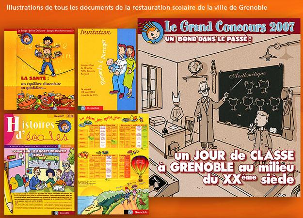 Illustration école de Grenoble