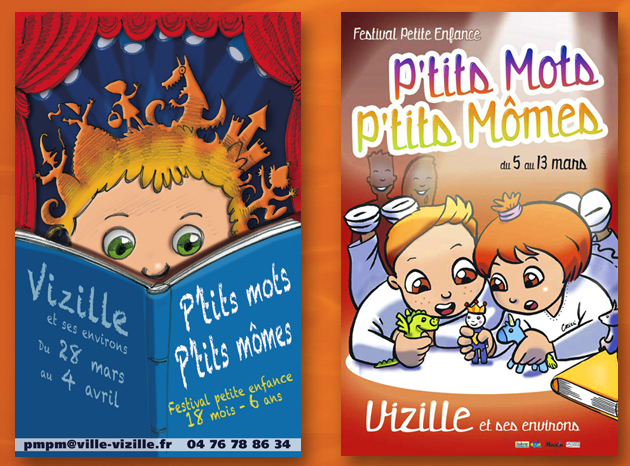 Illustration affiche enfant Vizille