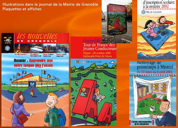 Illustration pour la mairie de Grenoble