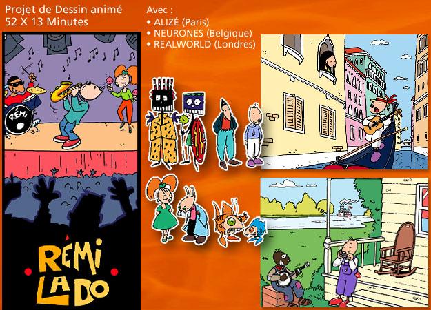 Illustrations Remi Lado