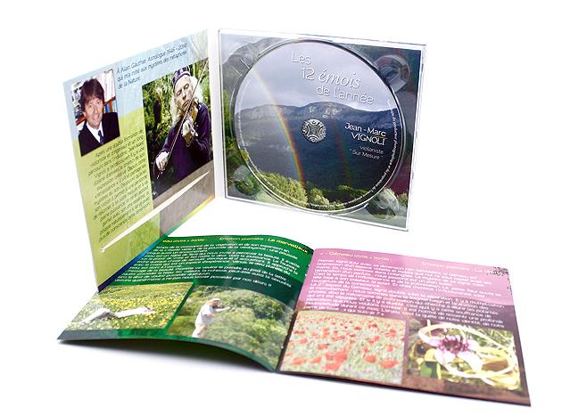 Jaquette CD les 12 émois de l'année
