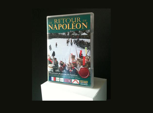 Jaquette DVD le retour de Napoléon