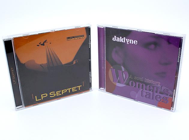 Jaquette LP Septet Grenoble